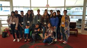 High school students attend conference