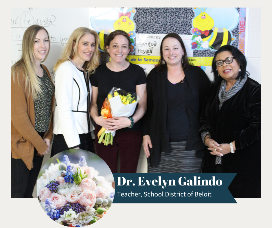 Congratulations to BMHS teacher, Dr. Evelyn Galindo for receiving the 2020 YWCA Women of Distinction Award