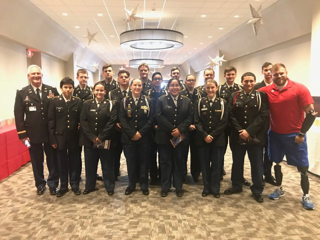 JROTC Participates in Local Event