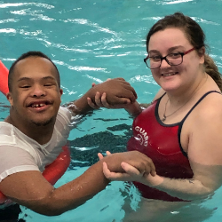 Beloit Memorial's Unified Swim program makes a splash