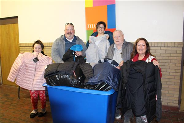 Coats Donated for Students