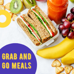 Grab and Go Meals on WCLO