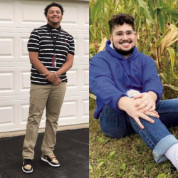 BMHS Students Christian Bell and Cristian Casique Named Rotary Students of the Week