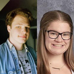 BMHS Students Maxwell Joos and Alyssa Harmon Named Rotary Students of the Week