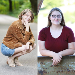 BMHS Students Sydney Prowse and Megan Scott Named Rotary Students of the Week