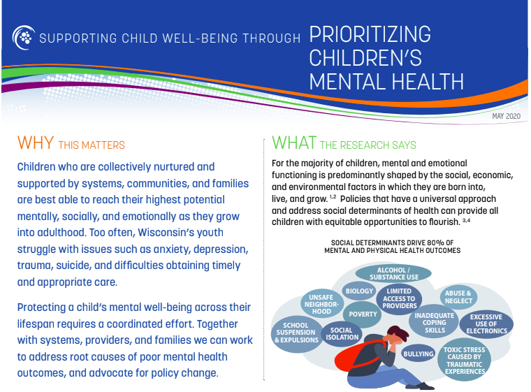 Supporting Child Well-Being Through Prioritizing Children's Mental Health