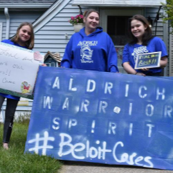 Lannon Family Thanks Aldrich Teachers
