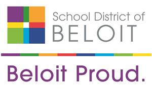 logo with beloit proud