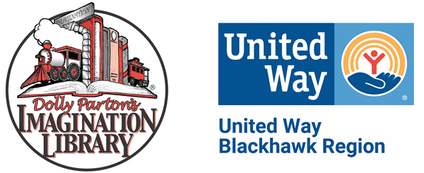Imagination Library United Way Blackhawk Region Logos